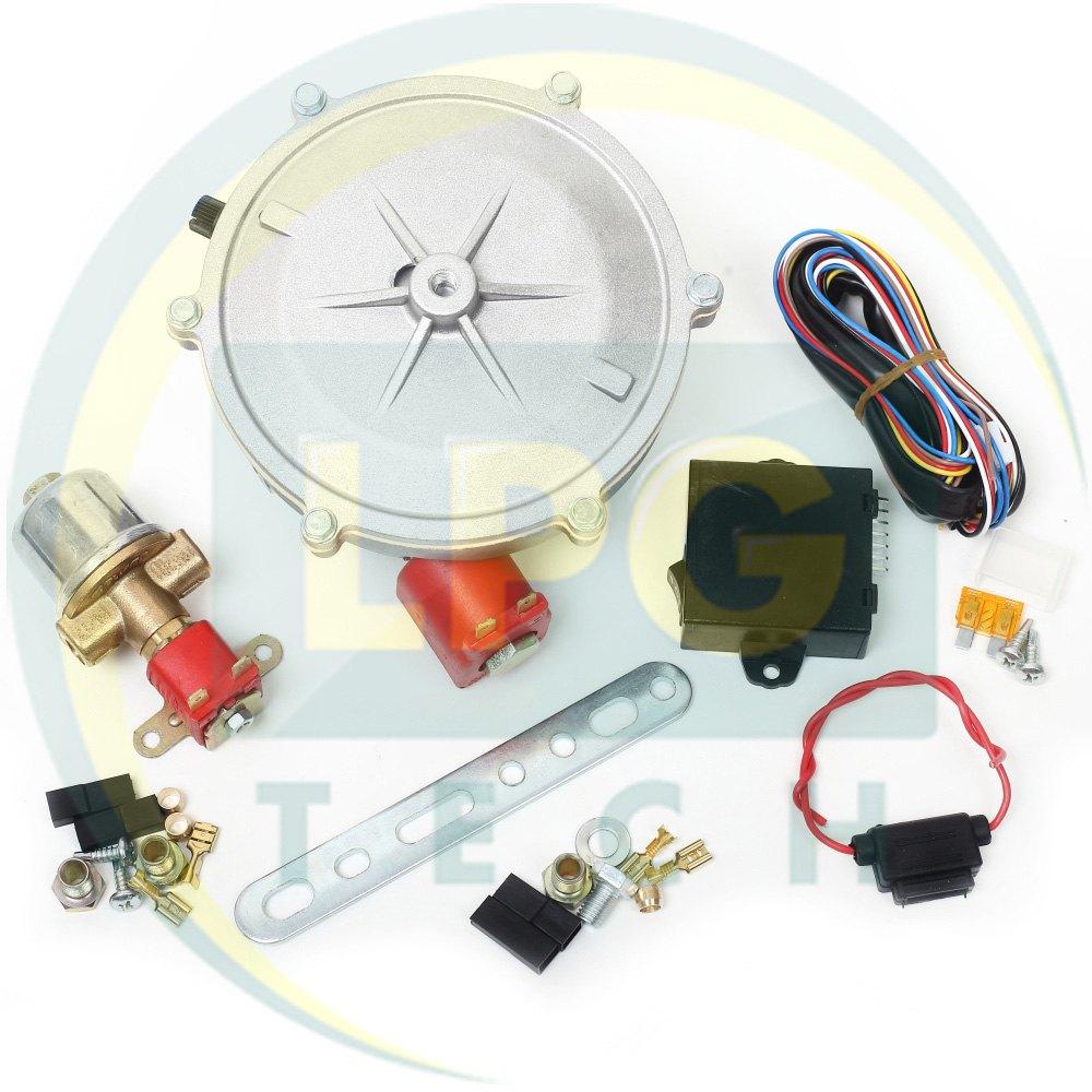 Вибираємо ГБО 2-го покоління на карбраторний і моноінжекторний автомобіль: комплектація і характеристики