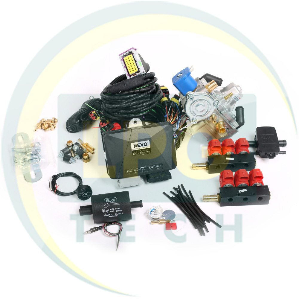 Склад і класифікація газобалонного обладнання ГБО