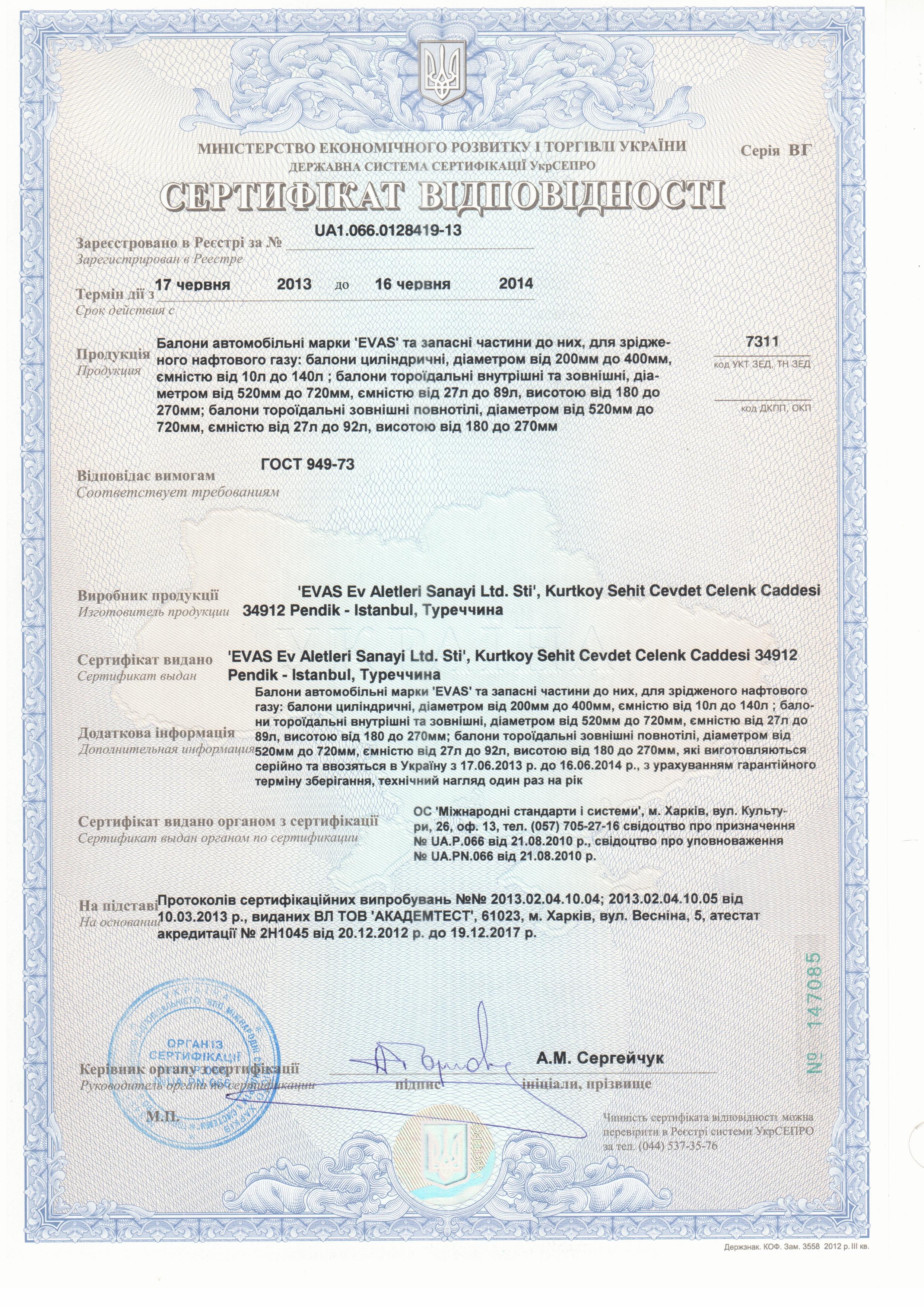 Сертификация газа метан метрология стандартизация и сертификация вал