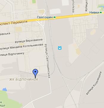 Карта проезда интернет магазина гбо LPGTECH UA