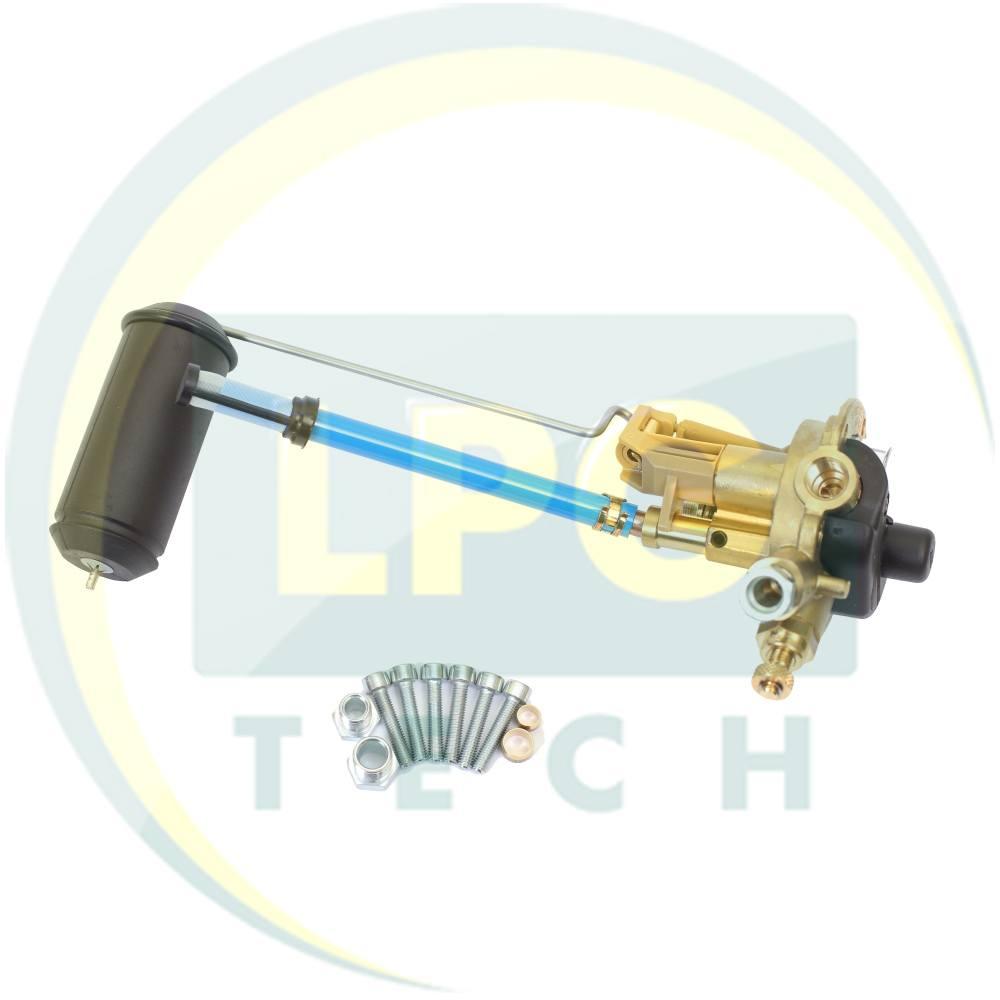 Мультиклапан Tomasetto 250-0 класу A без ВЗП (вихід газу під трубку 8 мм) (MVAT0093X1)