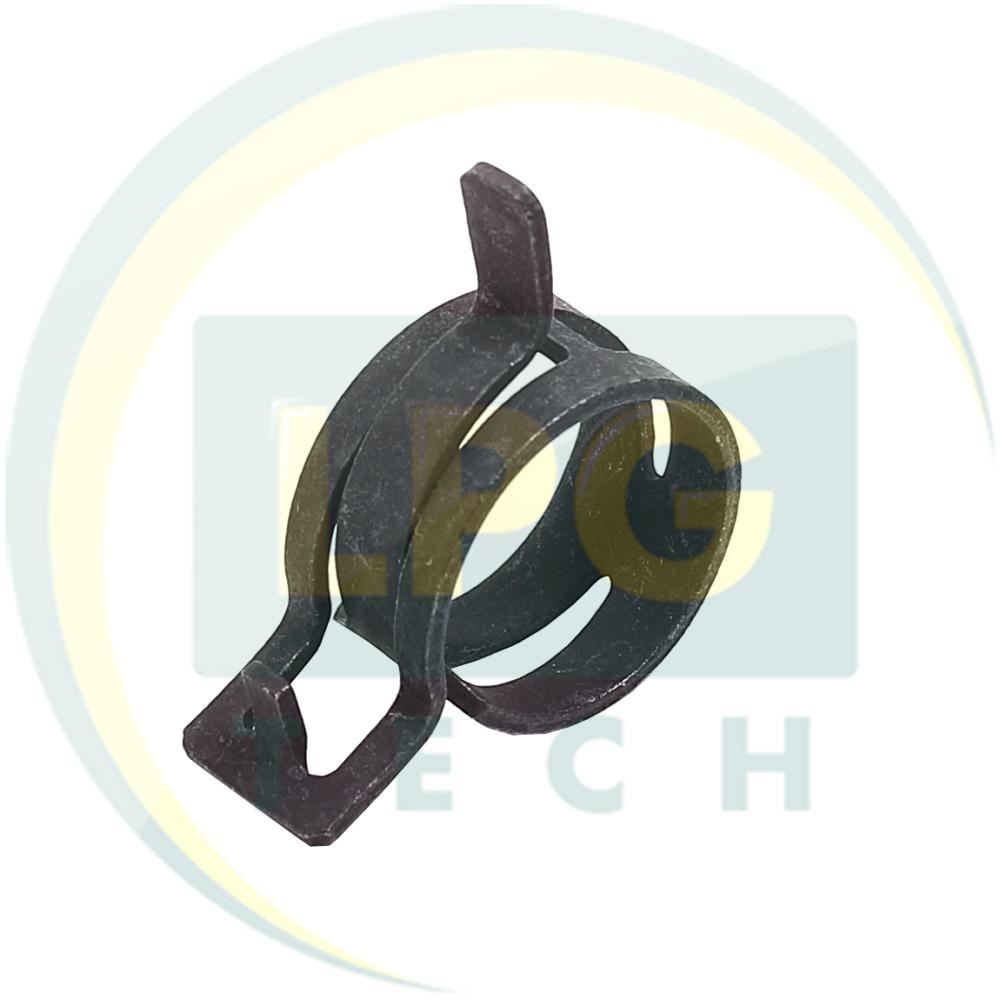 Хомут Mikalor пружинний D27 мм для рукава D19 мм