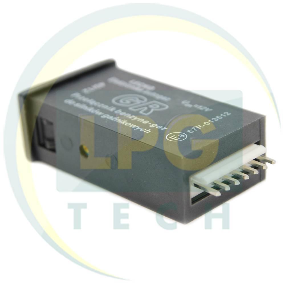 Перемикач виду пального Lecho GR: призначення, комплектація, характеристики, схема підключення