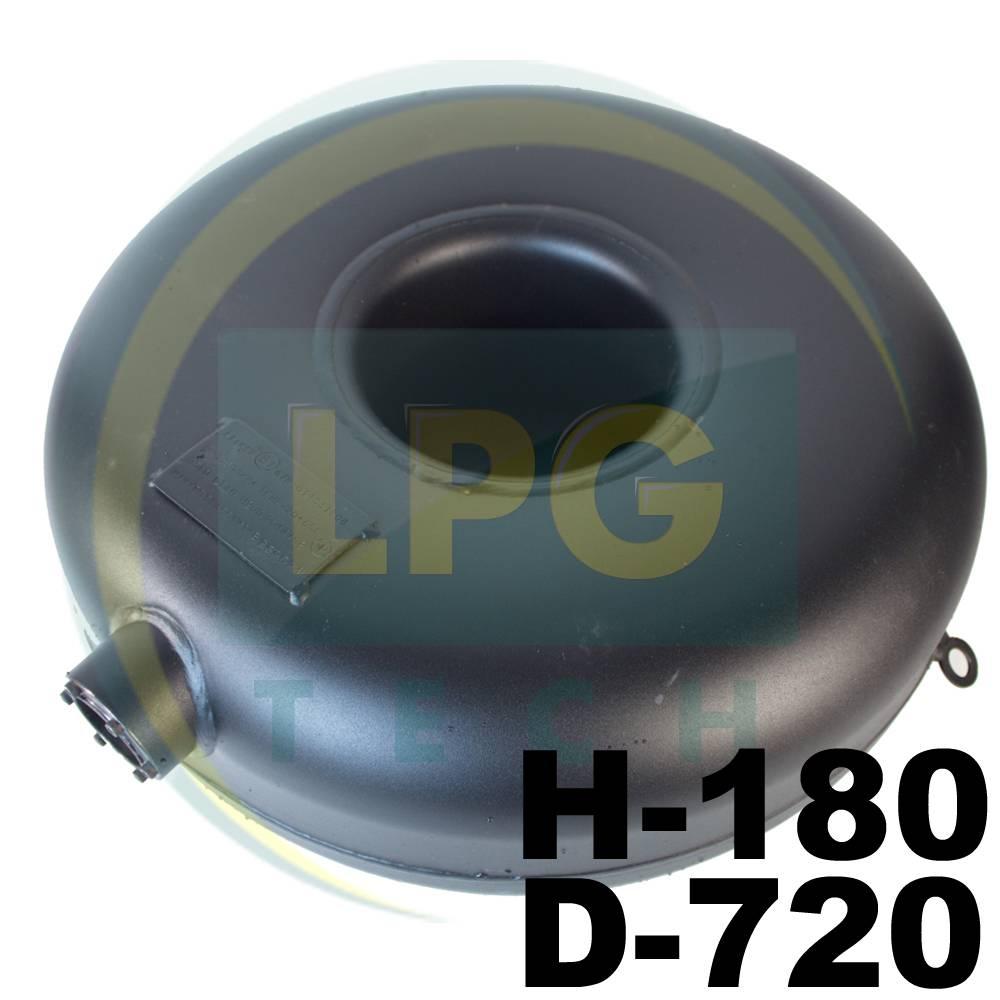 Тороїдальний балон зовнішній Atiker 54 літри 180х720 мм