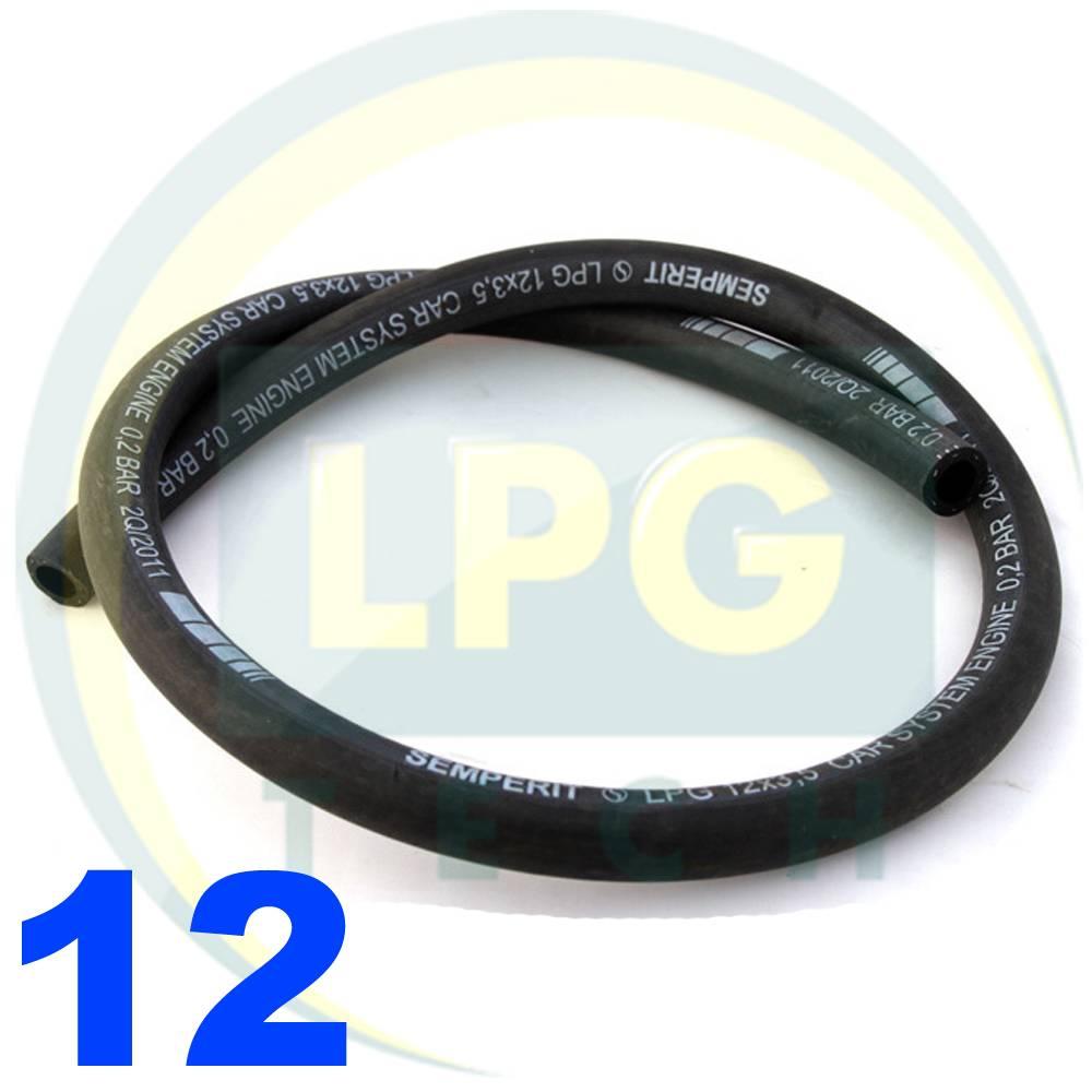 Рукав Semperit LPG/CNG (пропан/метан) D12 мм (FPB D12/19)