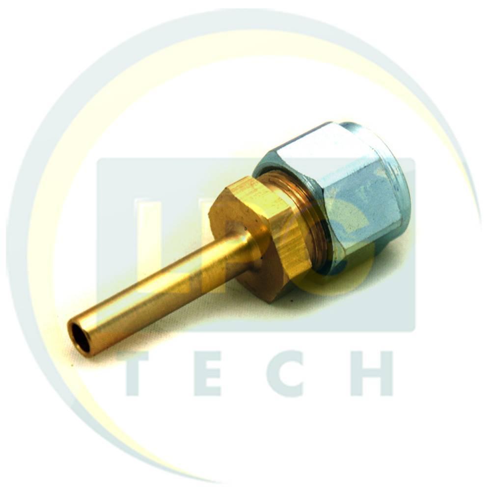 Штуцер з'єднувальний прямий D6 для термопластикової трубки FARO (GZ-1310)