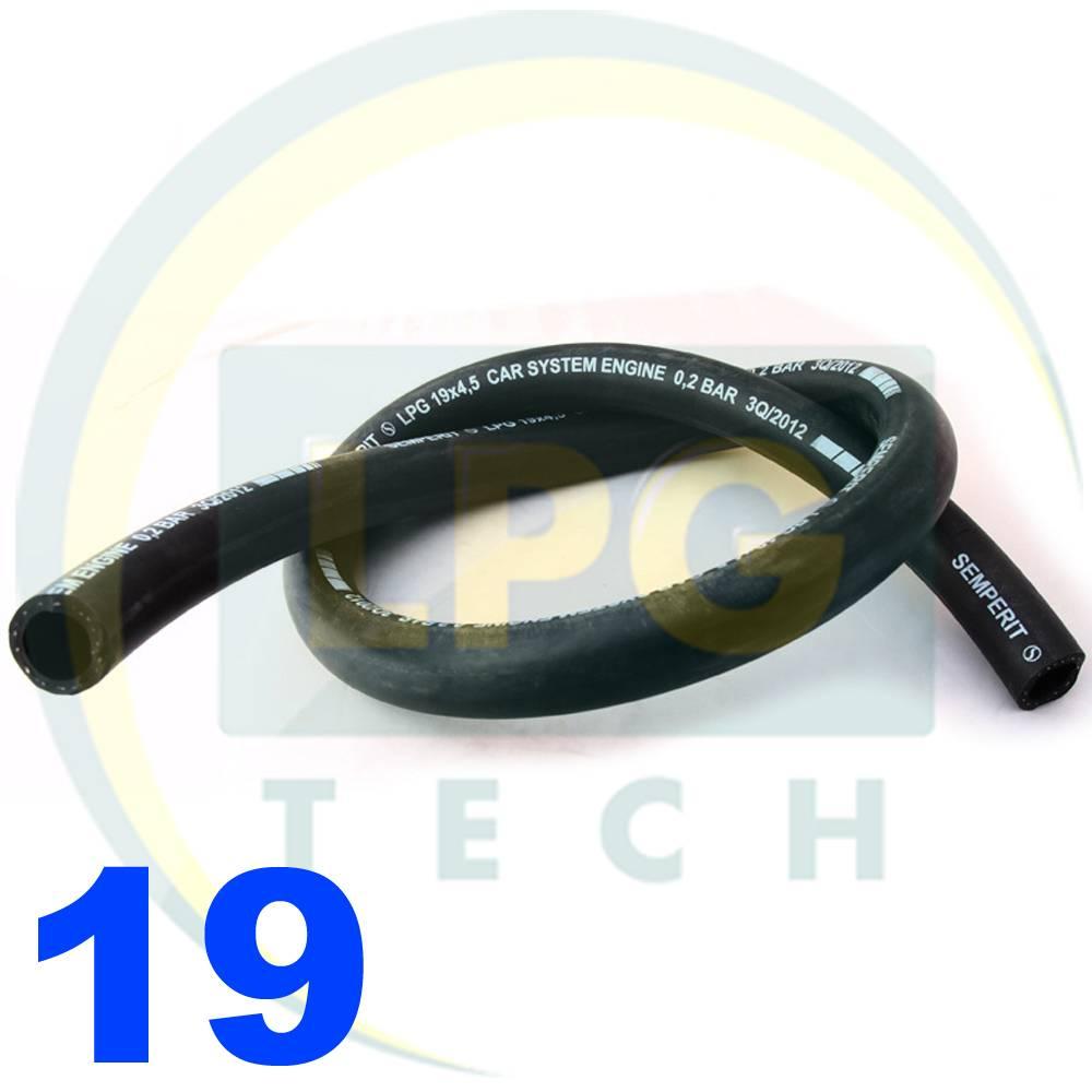 Рукав Semperit LPG/CNG (пропан/метан) D19 мм (FPB D19/27)