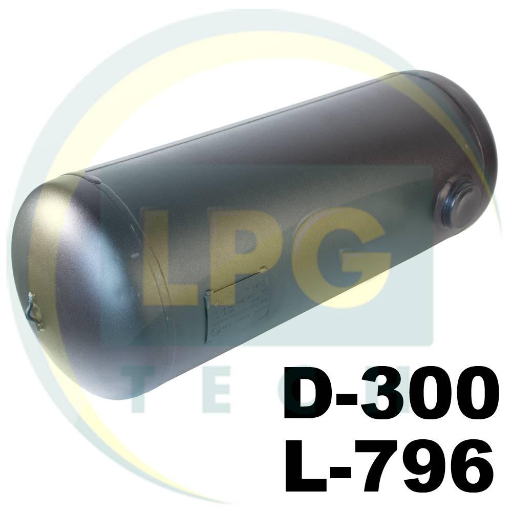 Балон пропан циліндричний Novogas 50 літрів 300х796 мм