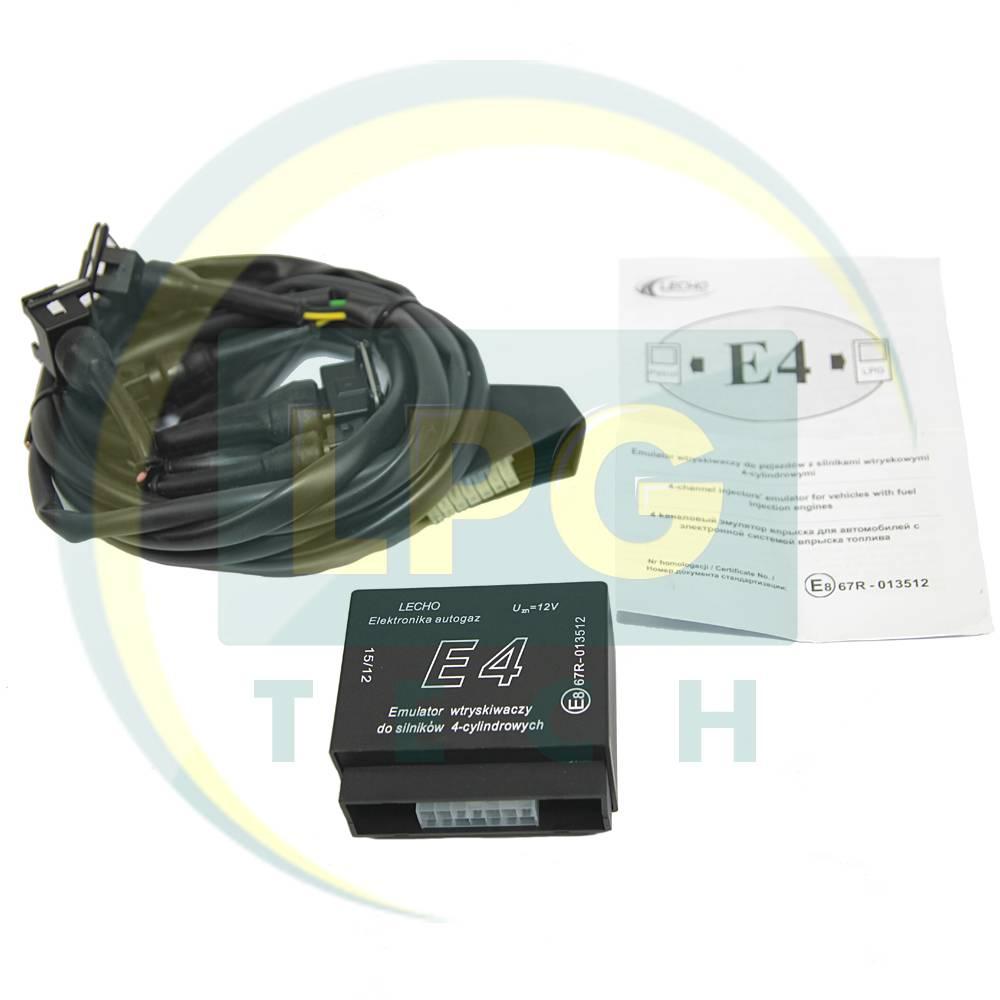 Емулятор відключення бензинових форсунок Lecho E4: монтажна схема, налаштування, обслуговування