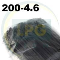 Кабельная стяжка 200х4,6 мм черная