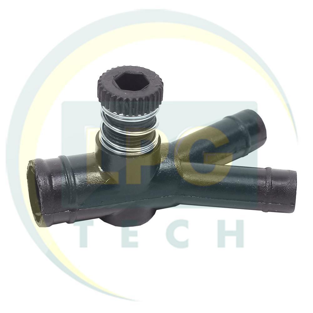 Дозатор газа 19x12x12 мм с одним регулировочным винтом