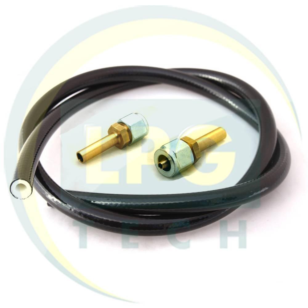 Термопластиковая трубка FARO D8 мм (2 метра) (2 прямых штуцера)