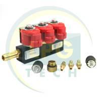 Газовые форсунки Valtek 3 цилиндра 3 Ом