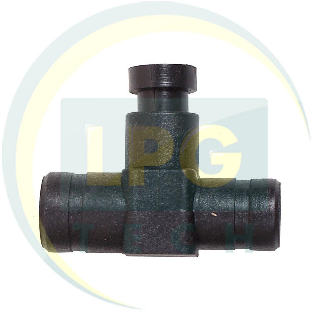 Дозатор газа 17x19 мм пластиковый