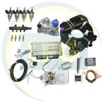 Мини-комплект Stag-300-4 Premium 4 цилиндра (Редуктор Tomasetto Alaska/Artic/KME Silver/OMVL CPR, форсунки Hana Single)