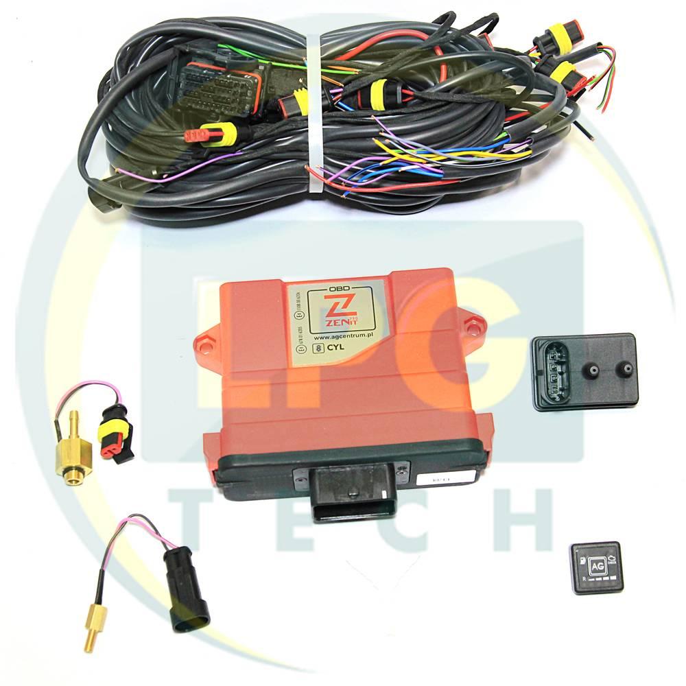 Інжекторна система Zenit PRO OBD 8 циліндрів