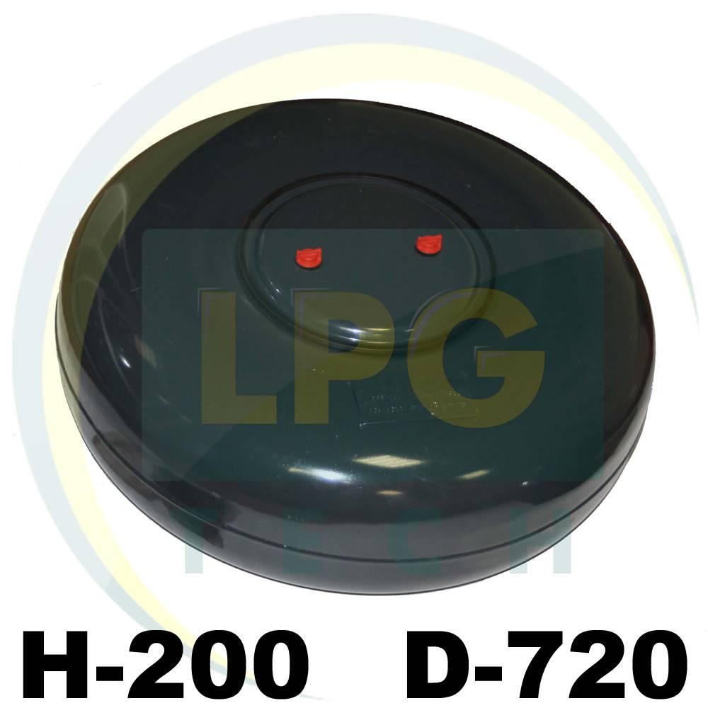 Тороїдальний балон Atiker 200х720 мм 61 літр
