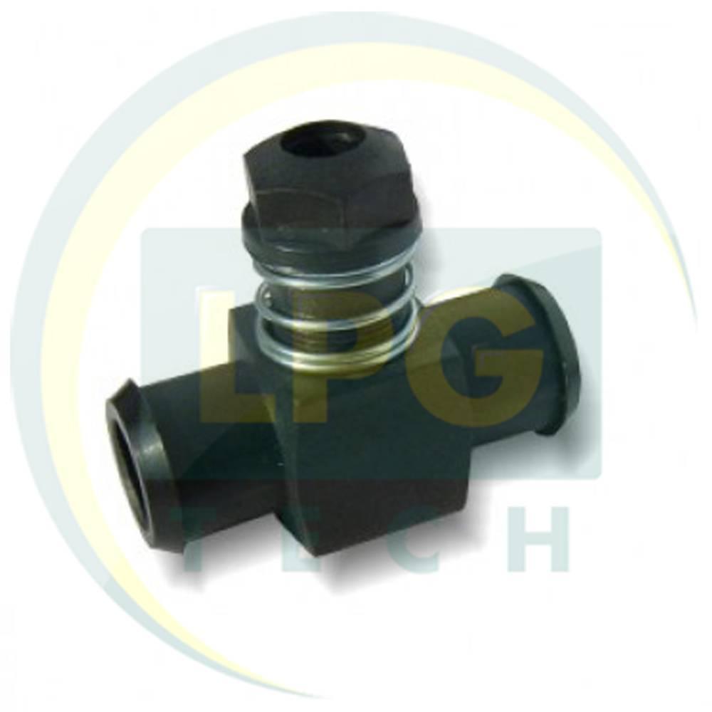 Дозатор газу 19x19 мм пластик