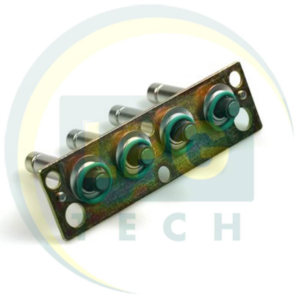 Ремкомплект форсунок OMVL 4 циліндри (металева рампа)