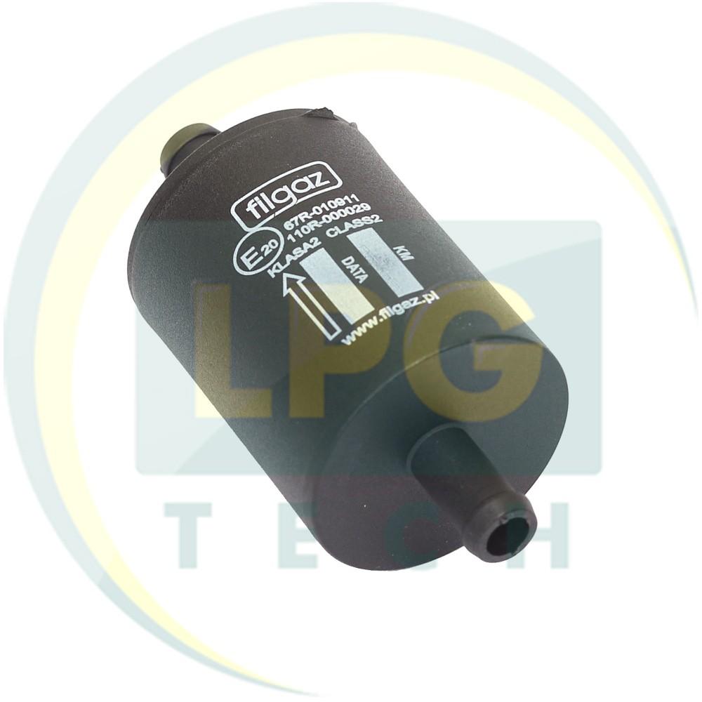 Фільтр тонкого очищення Filgaz 1 вхід - 1 вихід D12 мм