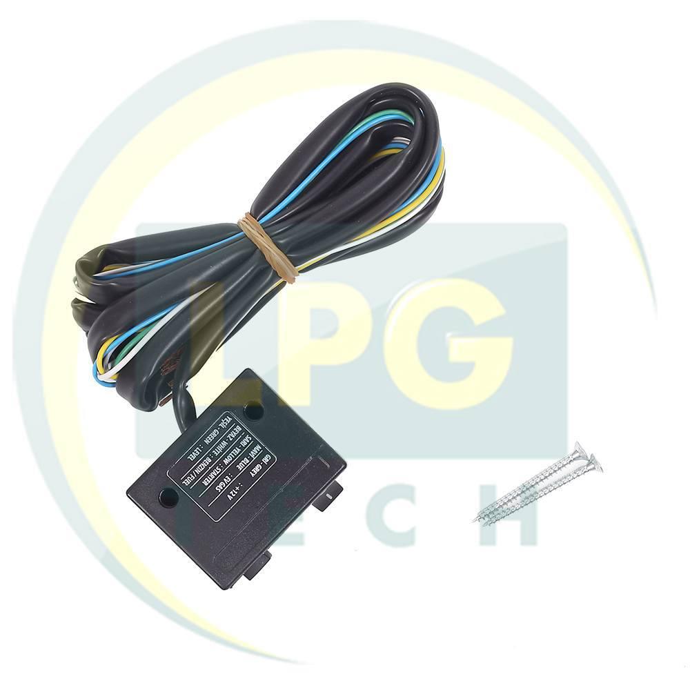 схема подключения кнопки переключения топлива stag2-g