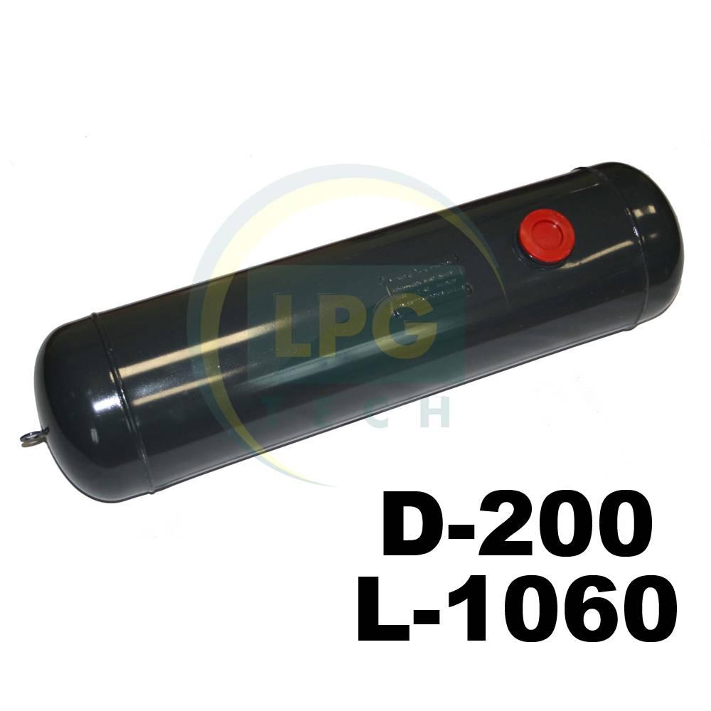 Балон пропан циліндричний Atiker 30 літрів 200x1060 мм
