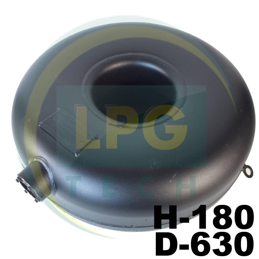 Балон пропан Atiker 43 літри 180х630 мм під запаску зовнішній