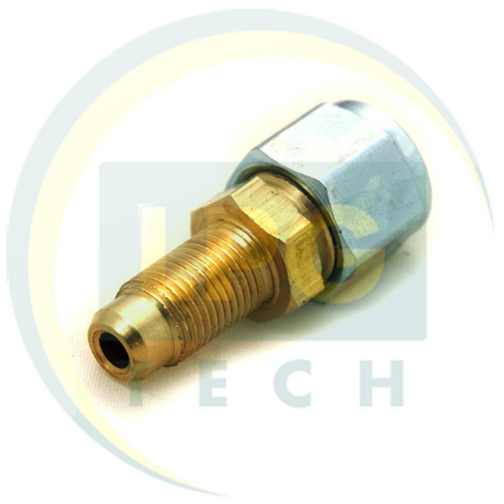 Штуцер-з'єднувач прямий М12х1/D6 для термопластикової трубки (GZ-2382)