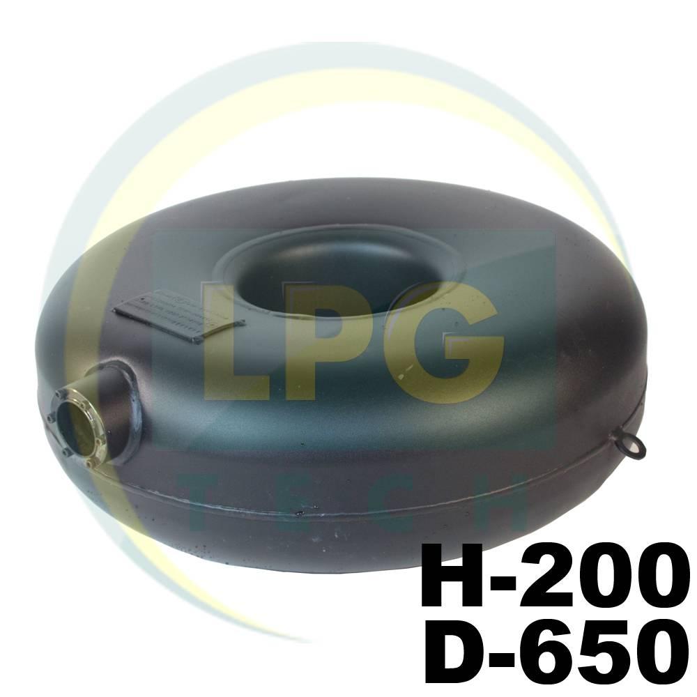 Балон пропановий Atiker 51 літр 200х650 мм під запасне колесо зовнішній