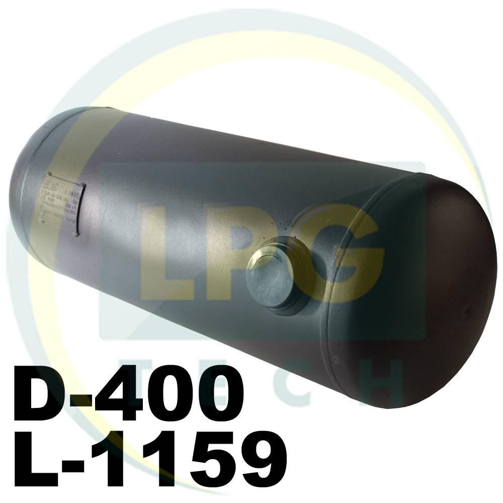 Балон пропан циліндричний НЗГА 130 літрів 400 х 1159 мм