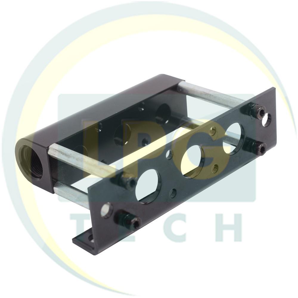 Монтажний набір Hana 3 циліндри металевий