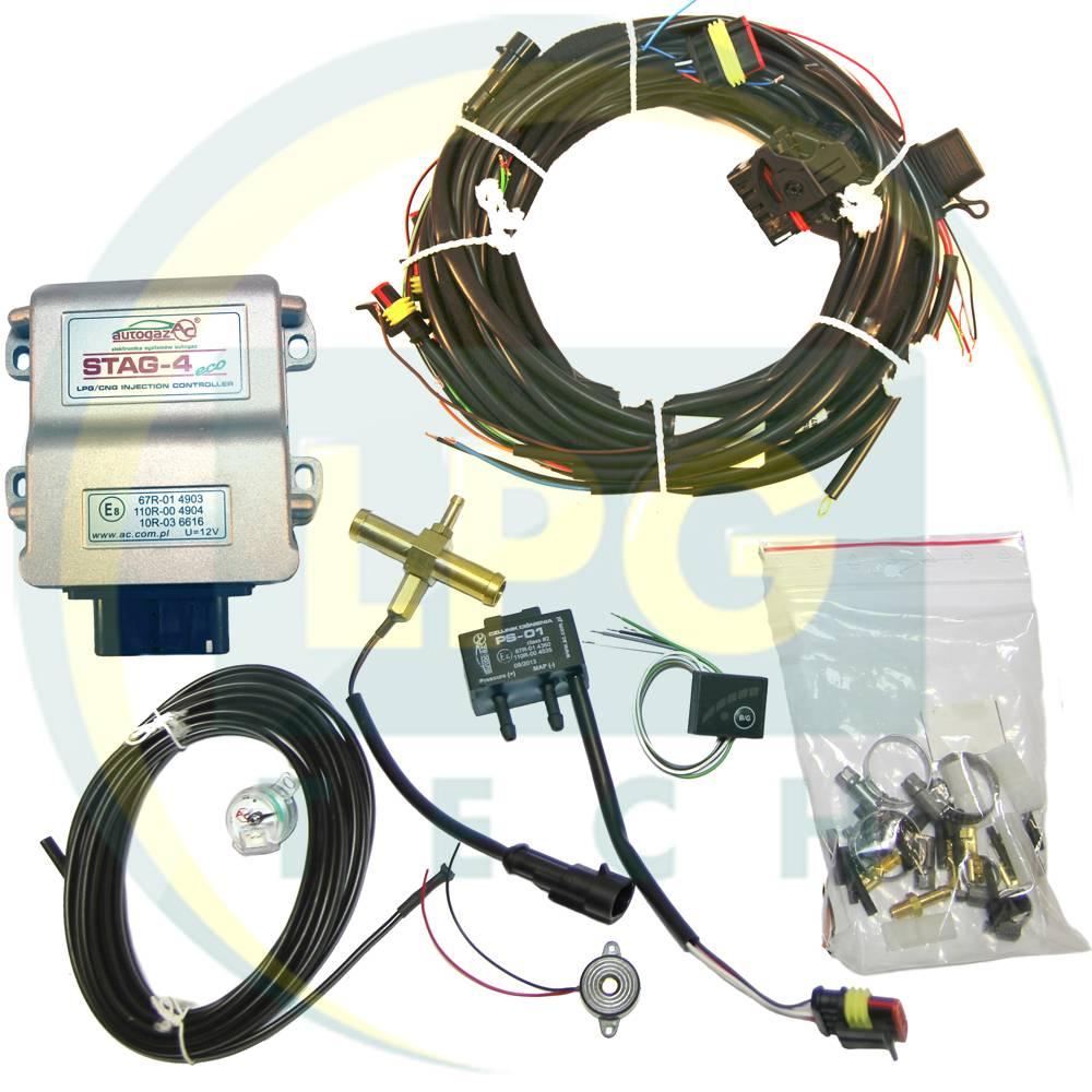 Інжекторна система STAG-4 Eco 4 циліндри