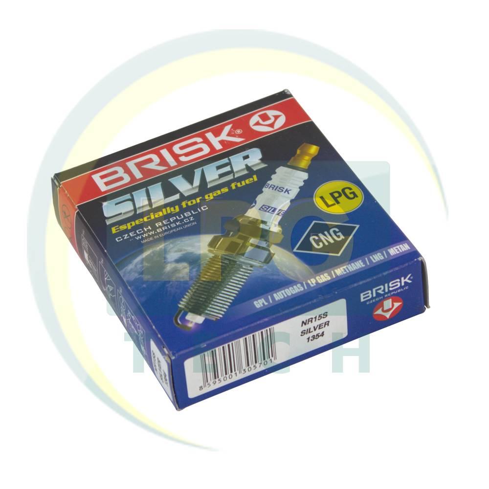 Свічки запалювання Brisk Silver NR15S.4K (упаковка 4 штуки)