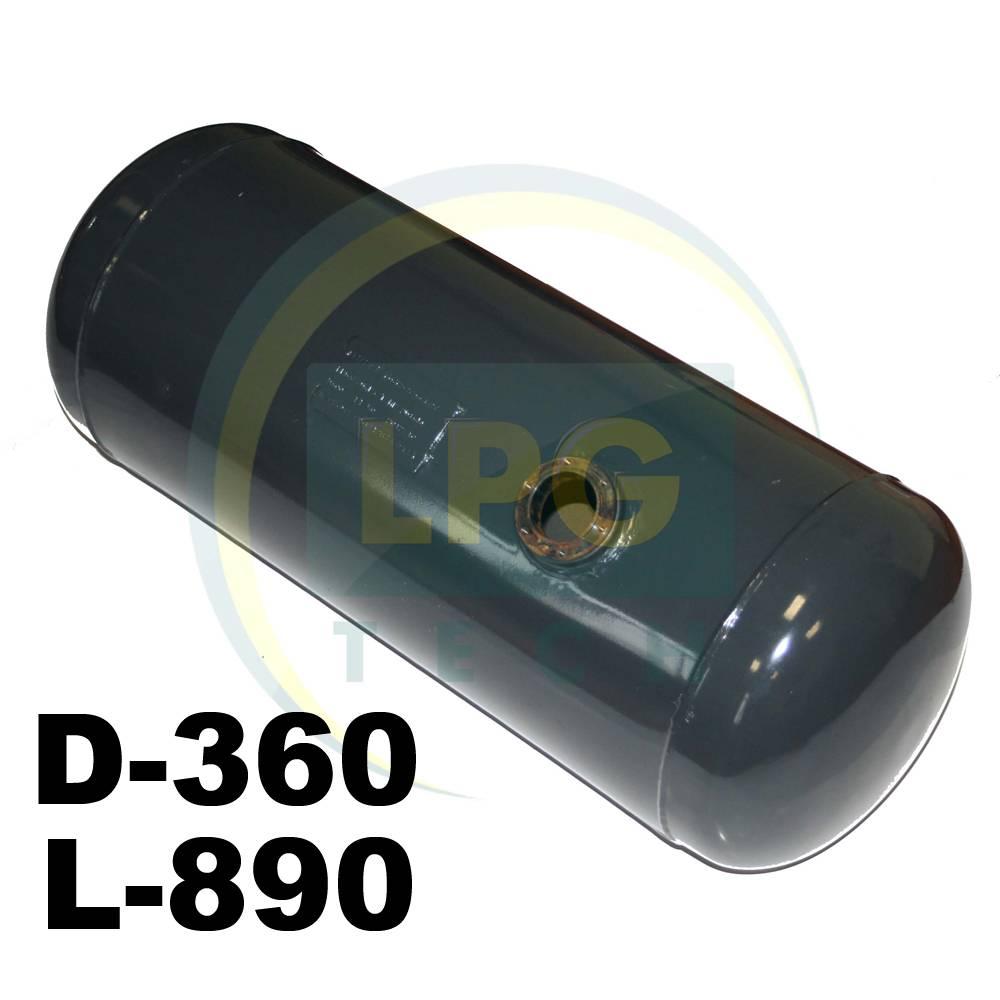 Баллон цилиндрический Atiker 80 литров 360 х 890 мм