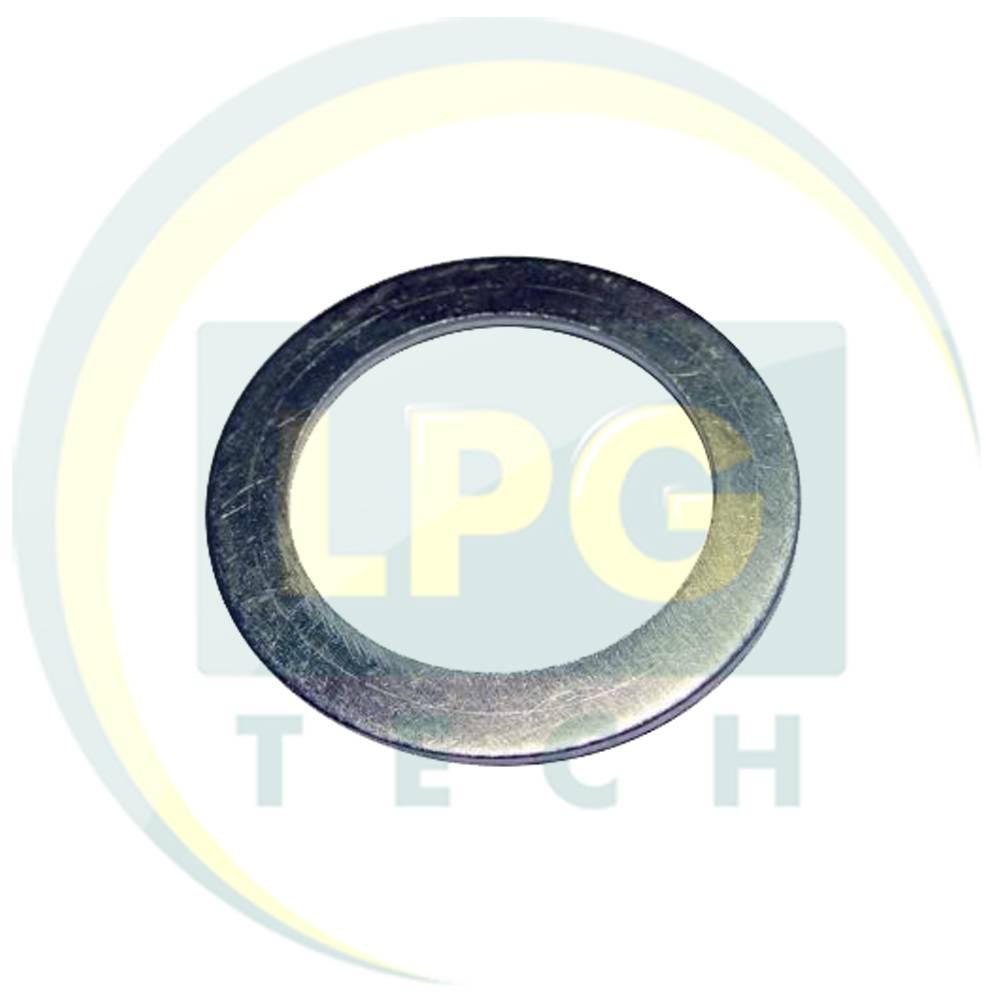 Шайба алюмінієва для метанового адаптеру 18х11,5х2 мм