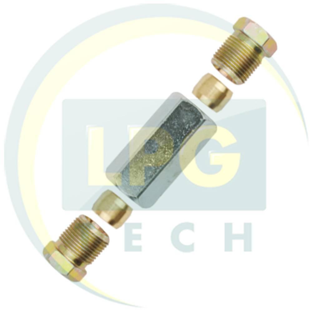 Перехідник Atiker D8 мм - D8 мм (пропан) (ST.302)
