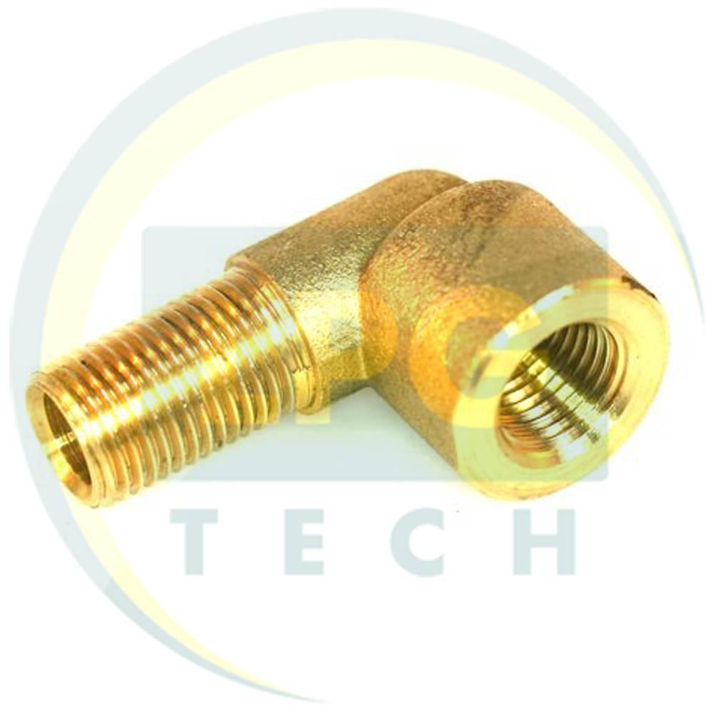 Кутовий з'єднувач для мультиклапану і ВЗП G1/4 / G1/4 (8 мм) (GZ-266)