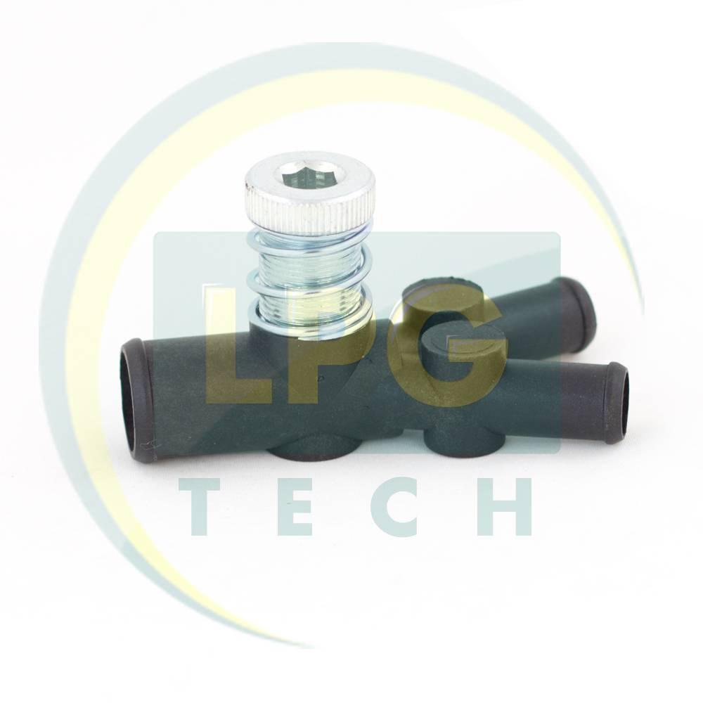 Дозатор газу OML 19x12x12 мм з одним регулювальним гвинтом