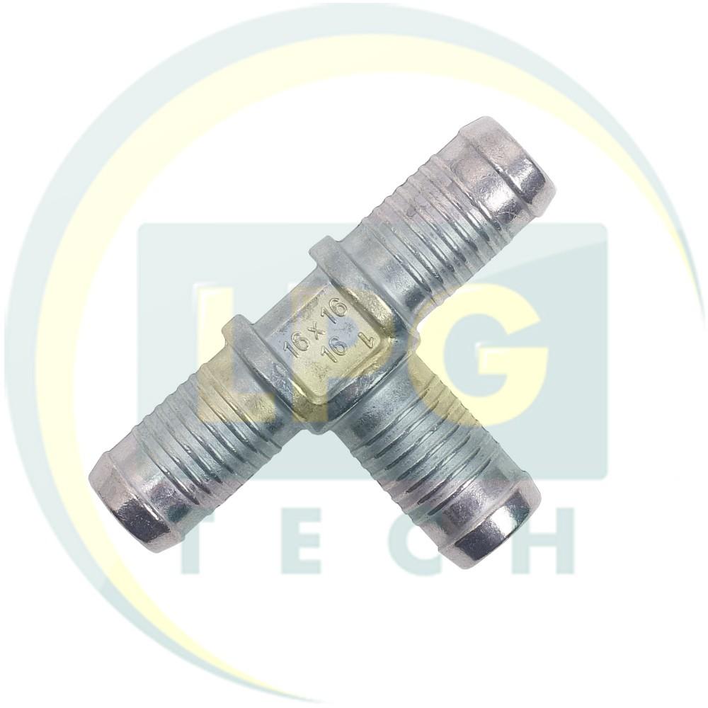Трійник для тосолу 16x16x16 мм метал (TE.002)