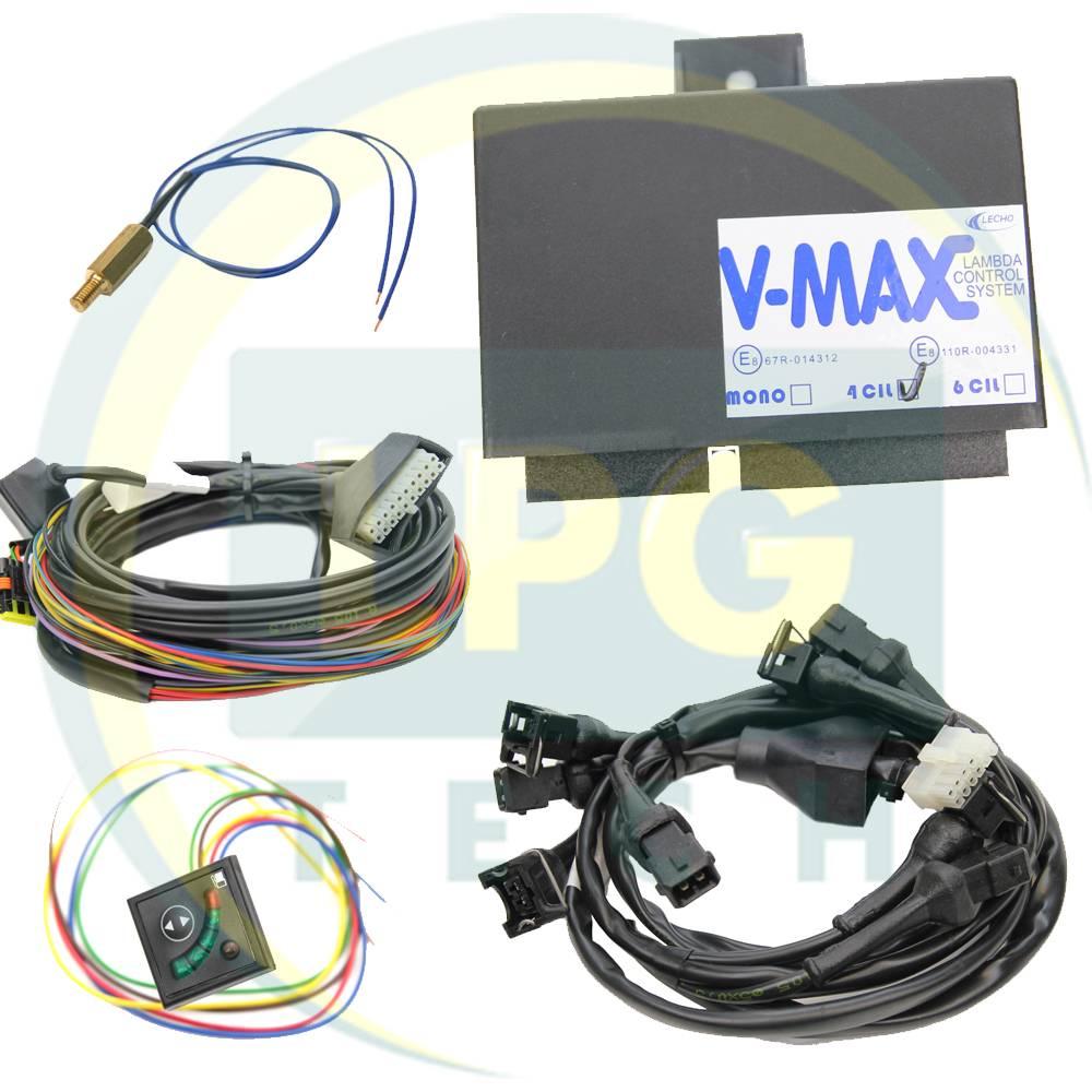 Система лямбда контролю Lecho V-MAX 4 циліндри