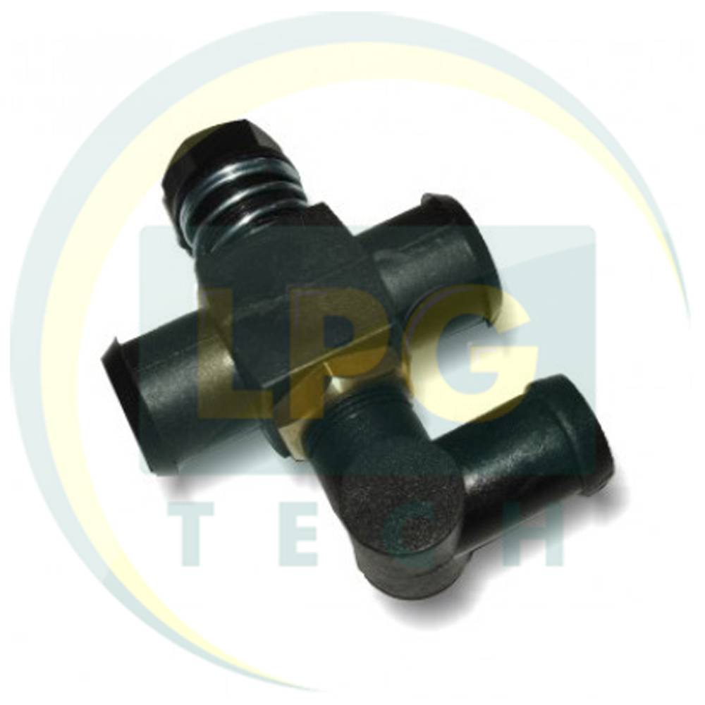 Дозатор газа Rybacki 19x19 мм с коленом