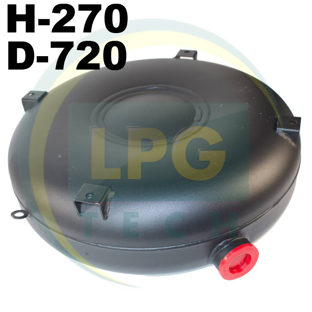 Балон пропан Atiker 92 літри 270х720 мм під запаску зовнішній повнотілий