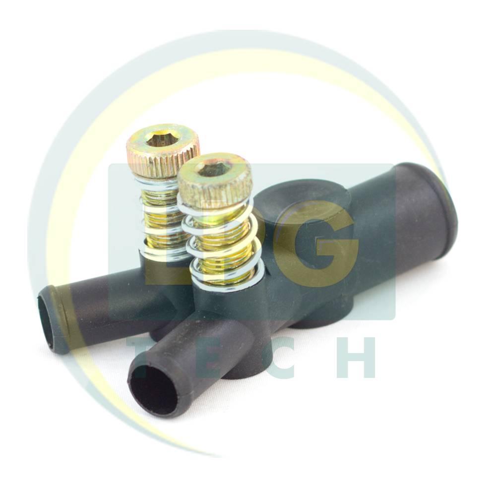 Дозатор газу OML 19x12x12 мм з двома регулювальними гвинтами