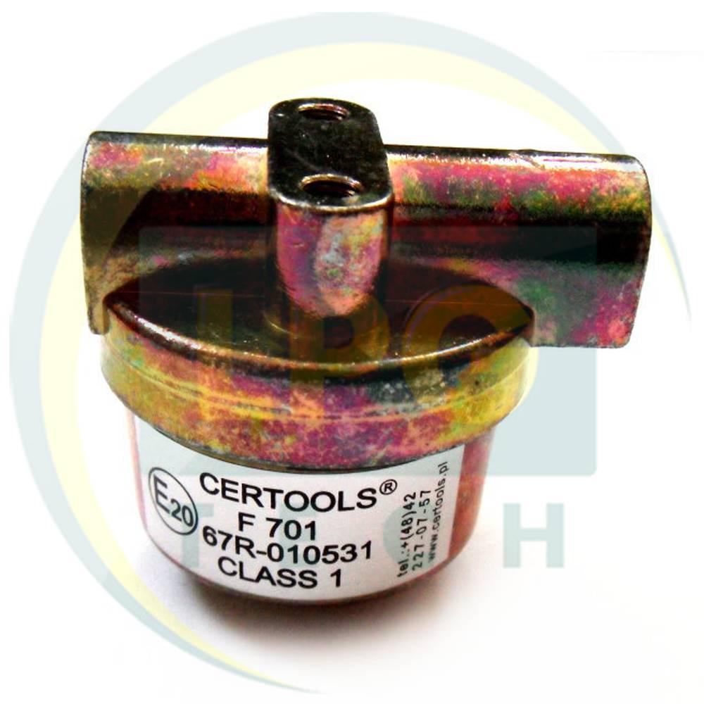 Фільтр газовий пропан Certools F701 для рідкої фази на трубку D8 (M12)