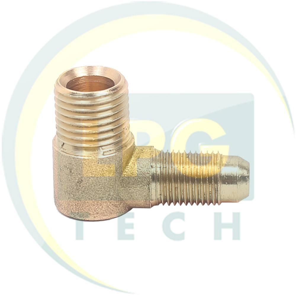 Кутовий з'єднувач для мультиклапану 6-8 мм (M10x1-G1/4)