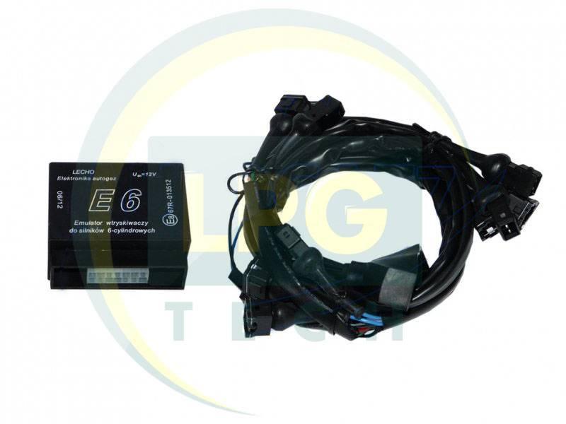 Емулятор бензинових форсунок Lecho E6: схема підключення, характеристики, опис
