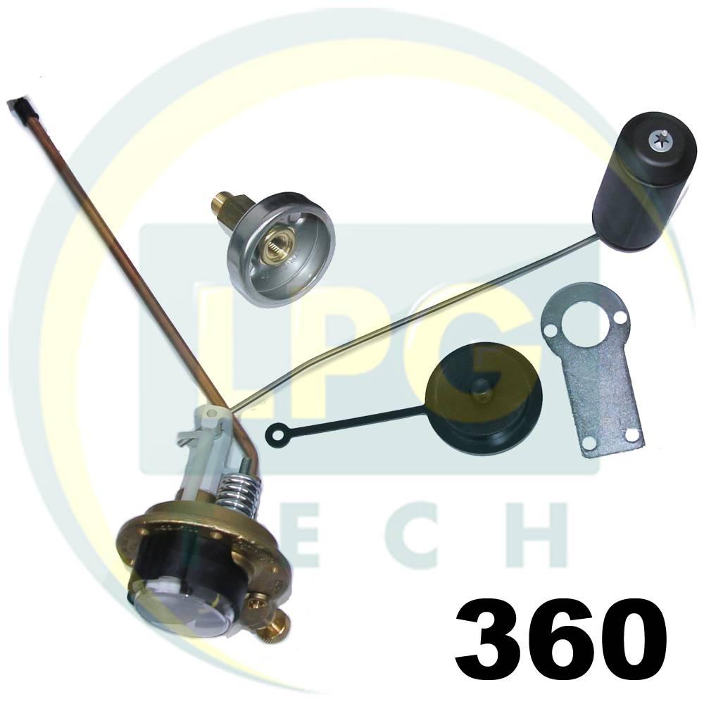 Мультиклапан Tomasetto 360-30 класу A з заправним пристроєм (вихід D8)
