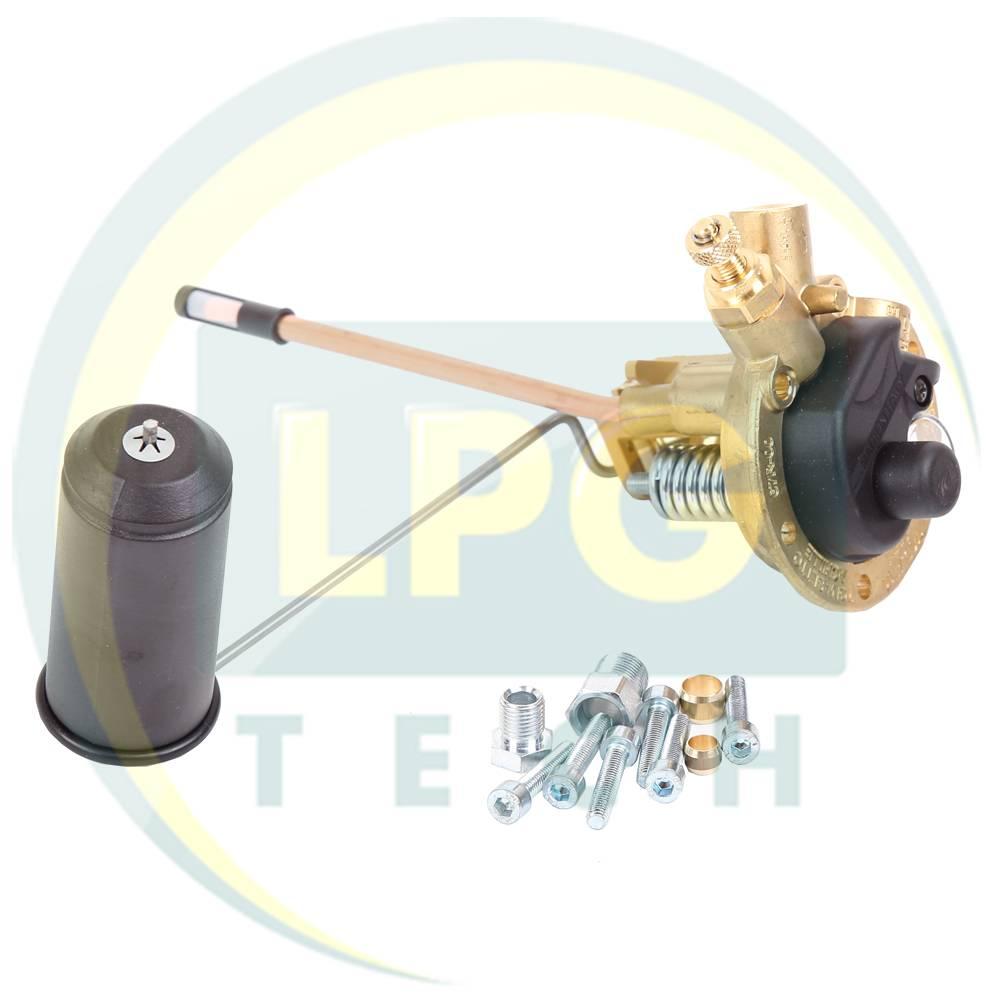 Мультиклапан Tomasetto Sprint 200-0 класу A без ВЗП для зовнішніх балонів (MVAT0091.1)