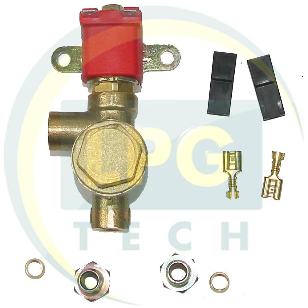 Електроклапан газу Atiker 1203 (пропан-бутан)