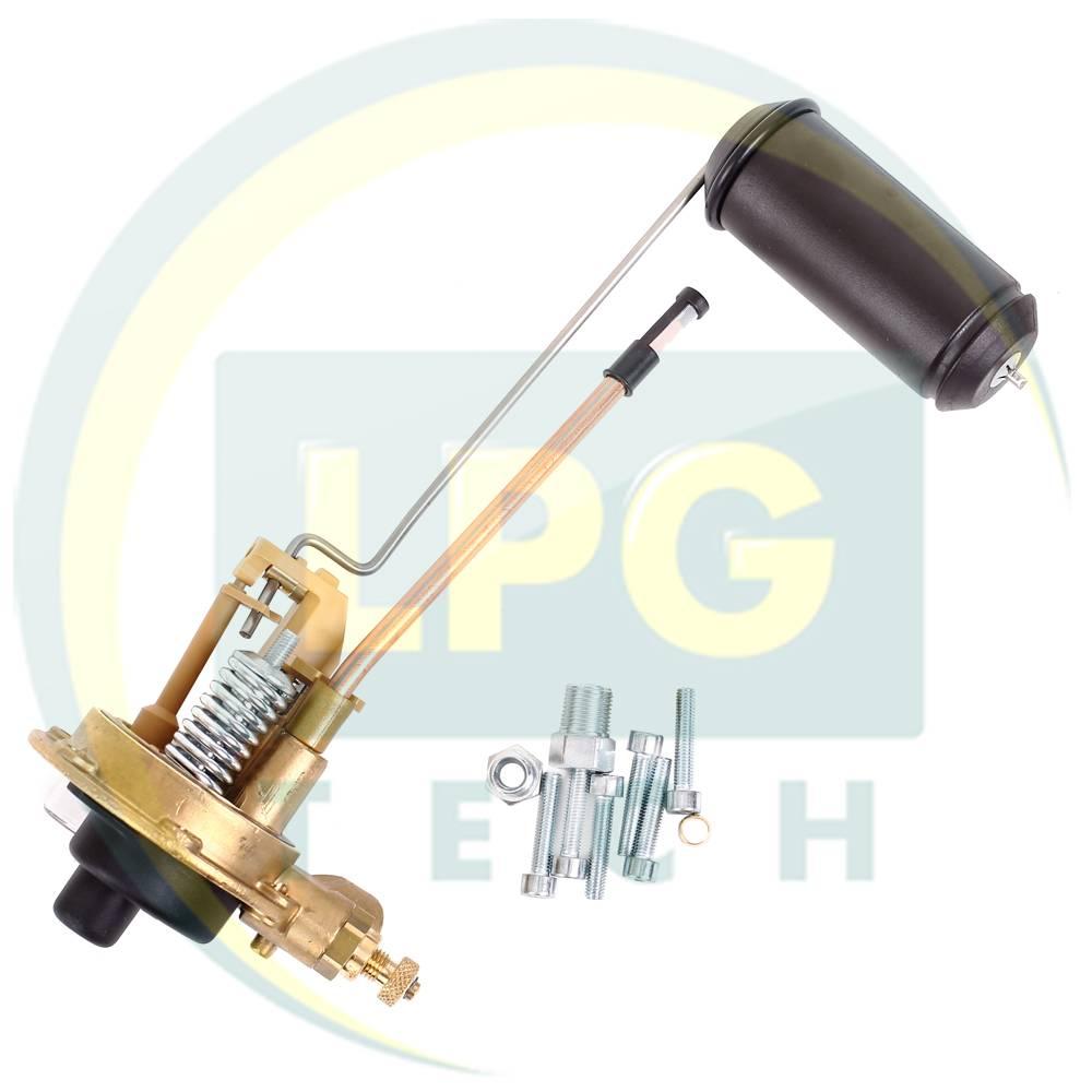 Мультиклапан Tomasetto Sprint 244-30 класса A для цил. баллонов без ВЗУ (MVAT0002.1) вид сбоку